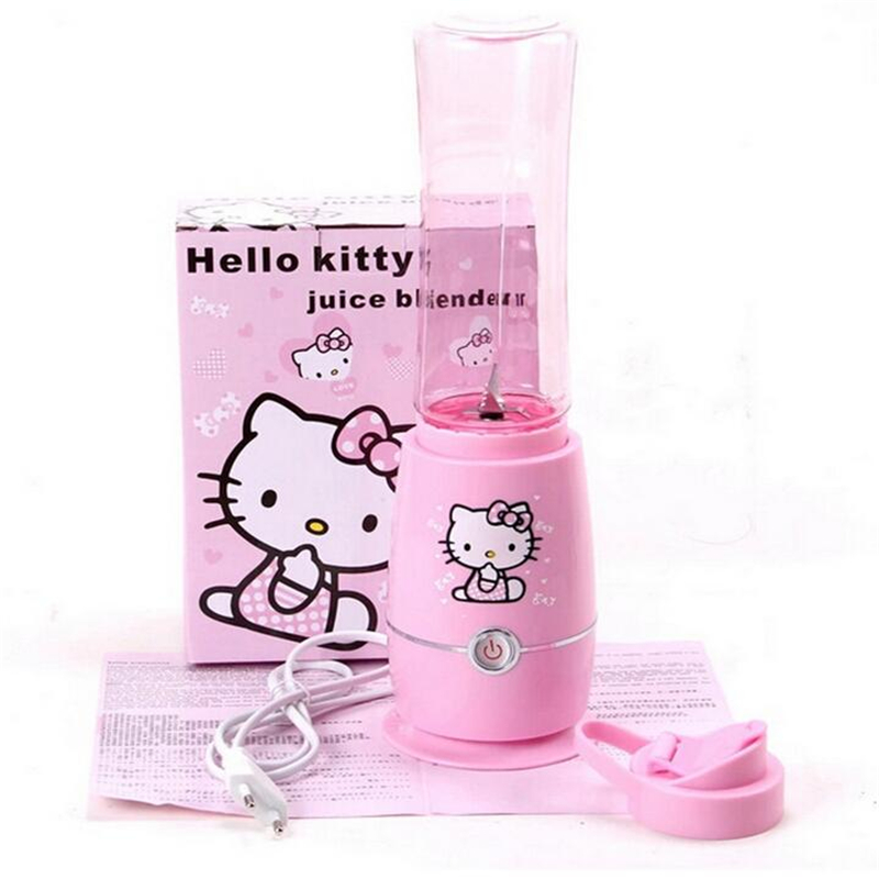 Mini Hello Kitty Multifunction Electric Fruit Juicer Fruit Vegetable Extractor Mixer Squeezer Blender manley teksta kitty mini 21738b