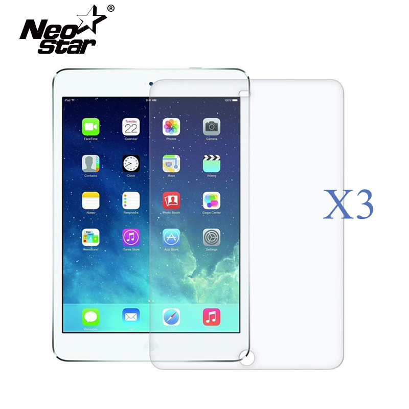 3PCS For IPad 5 6 Air 1 2  Ultra Thin HD Clear Screen Protector LCD Screen Guard Anti Scratch Protective Film + Stylus Pen