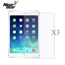 купить 3PCS/Lot Ultra Thin HD Clear Screen Protector For IPad 5 6 Air 1 2 LCD Screen Guard Anti Scratch Protective Film + Styuls Pen дешево