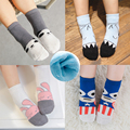 3 Pair/Lot Children's Accessories Winter Thickened Kids Socks Christmas Baby Girls&Boy Socks Thick For Children 1-10 Year