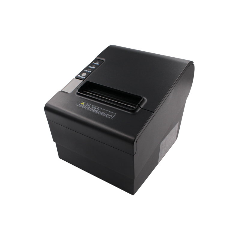 Auto-Cutter 80mm Restaurant Thermal Receipt Printer YK-8030 Straight Thermal Printer USB, LPT,PS/2  Three In One