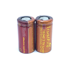 8pcs/lot Trustfire IMR 16340 650mAh 3.7V High Drain Rechargeable Battery Lithium Batteries for E-cigarettes LED Flashlights