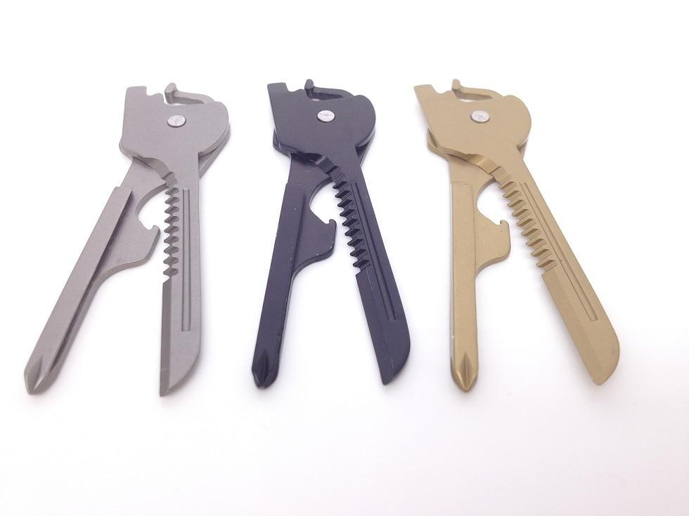 6 in 1 useful multifunction knife practical swiss tech utili key outdoor screwdriver bottle. Black Bedroom Furniture Sets. Home Design Ideas