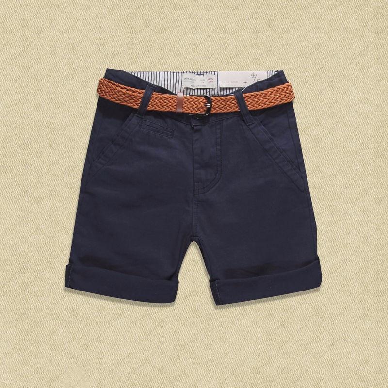 Teen 2017 Summer New Children Short Pants Boys Kids Cotton Casual - Ubrania dziecięce - Zdjęcie 3
