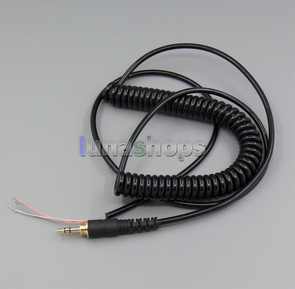 Replacement DJ Headphone Cable Cord Line With PLUG for Repairing Headphones LN004520