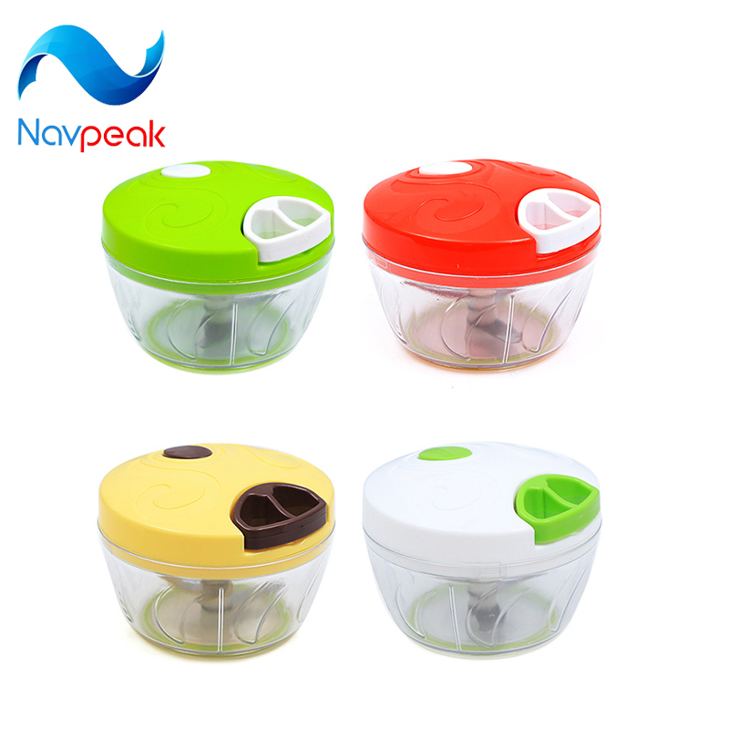 10pcs/lot Navpeak Kitchen Cocina Household Vegetable Chopper Shredder Multifunction Food Processor Meat Machine Crusher Blender