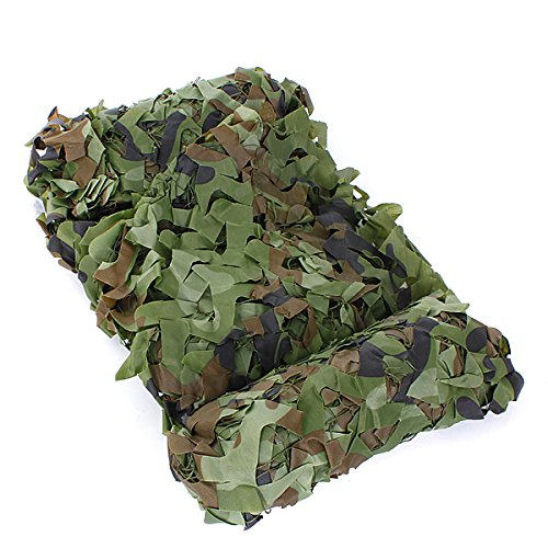 Sunshade military  camo Woodland hunting camo Jungle  army netting hunting camouflage net car cover netting 2*9M(78.7in*354in)