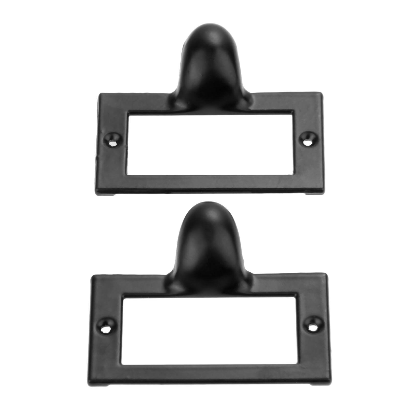 Tag Frame Label Holder Pull Handle