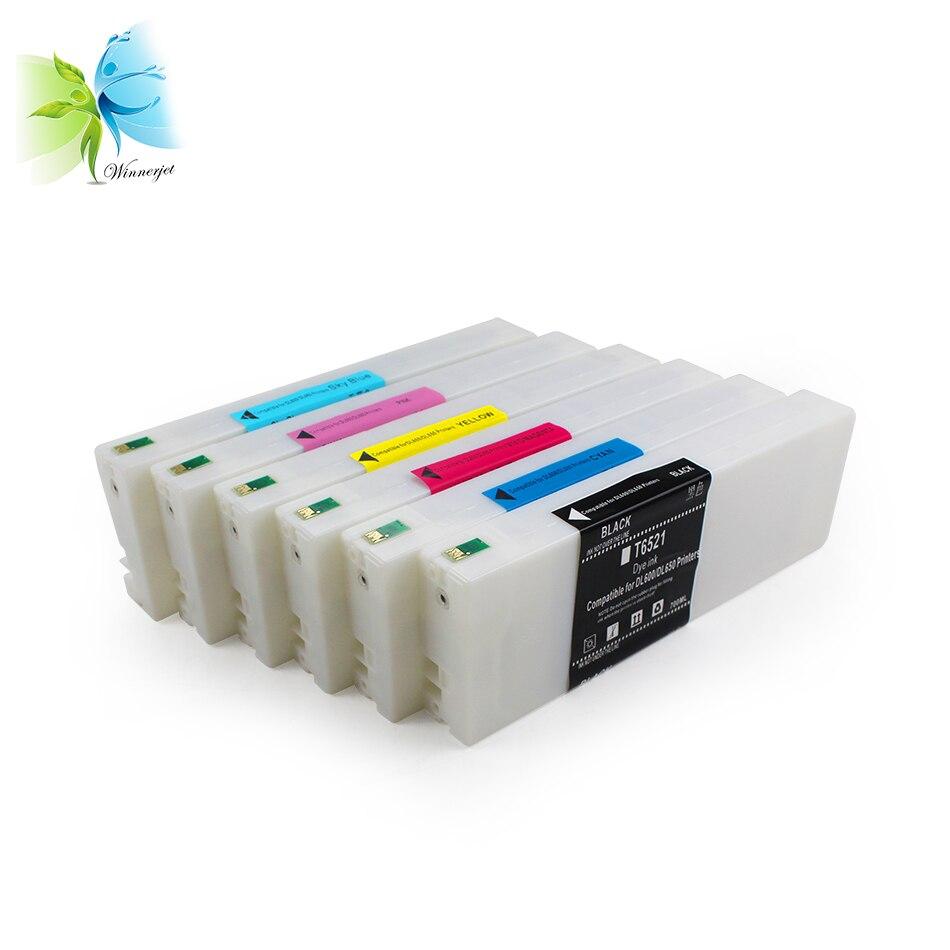 Winnerjet 700ML T6521-T6525 Compatible ink cartridge for Fujifilm DL600 Full