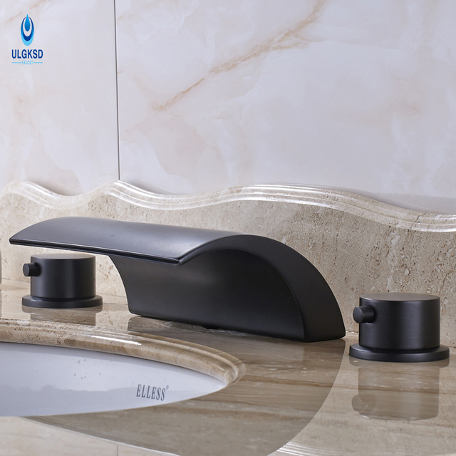 Ulgksd Oil Rubbed Bronze Basin Sink Faucet Deck Mounted ... on tub faucets, small bathroom faucets, black nickel faucets, bathroom faucet parts, bath faucets, cool bathroom faucets, modern bathroom faucets, bathroom basin sinks, bronze bathroom faucets, bathroom water faucets, shower faucets, bathroom mirrors, basin faucets, bathroom vanity faucets, bathroom sink drains, bathroom vanities, bathroom sink sinks, kohler bathroom faucets, bathroom sink ideas, grohe bathroom faucets,