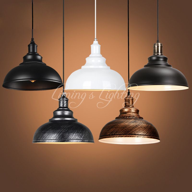 5 Style Retro Hanging Hardware Lights Loft Retro Industrial Pendant Lamp E27 Cord  For Dining Room Kitchen Bar Coffee Lights iwhd gold iron style loft industrial vintage pendant lights retro birdcage hanging lamp kitchen dining room luminaire suspendu