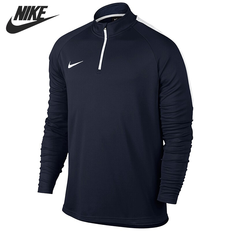 Original New Arrival 2017 NIKE DRY ACDMY DRIL TOP Men's T-shirts Long sleeve Sportswear nike y nk dry acdmy top ss