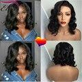 8A Short Bob Lace Front Wig Human Hair For Black Women Body Wave Brazilian Virgin Human Hair Glueless Full Lace Human Hair Wigs