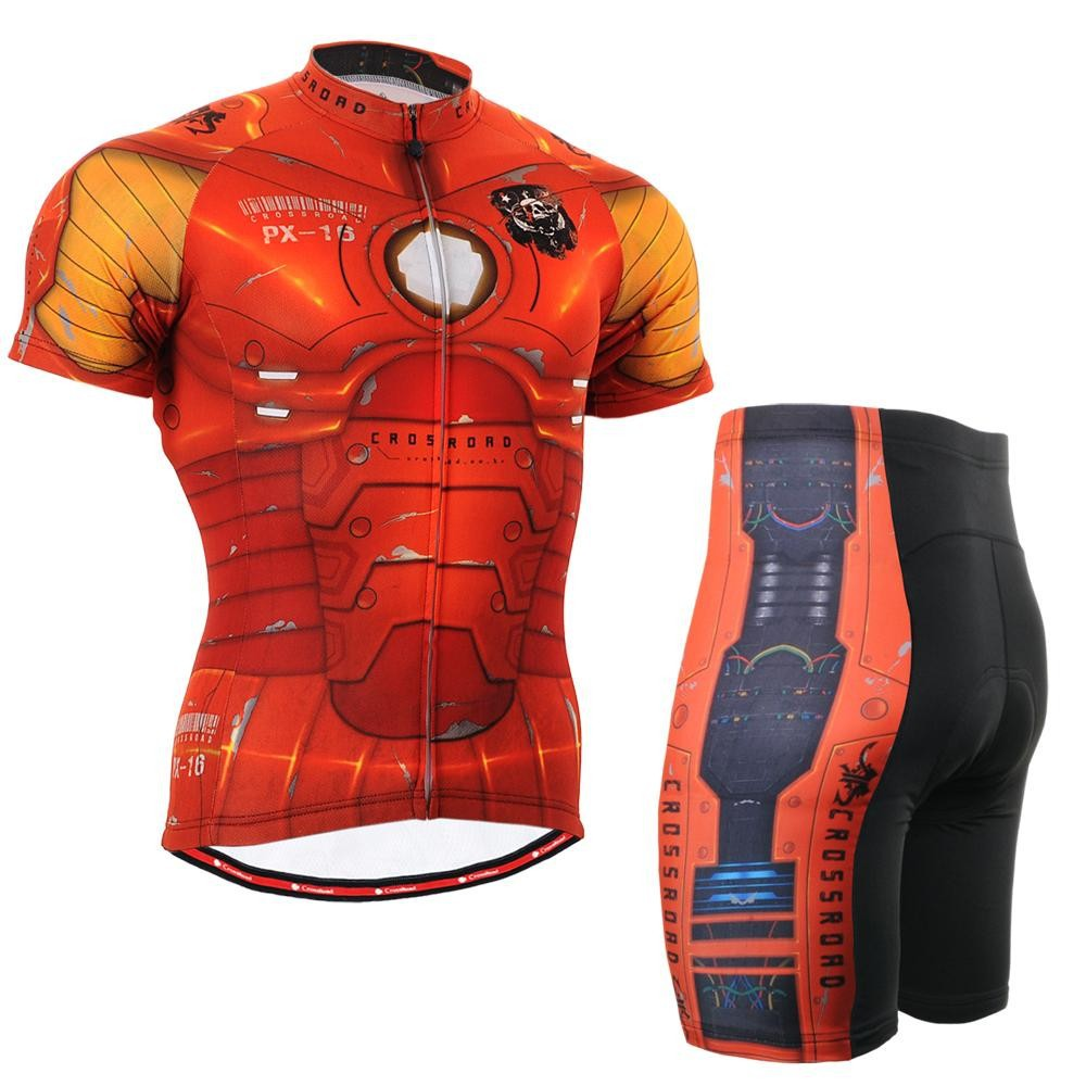 Life on track Mens Cycling Jerseys Sets Iron man Bike Bicycle Shirts Clothings Cycling Jersey For Ironman Ciclismo life on track cycling clothings bike bicycle jerseys long lasting wolf graphic women long sleeves ergonomic designs tops shirts