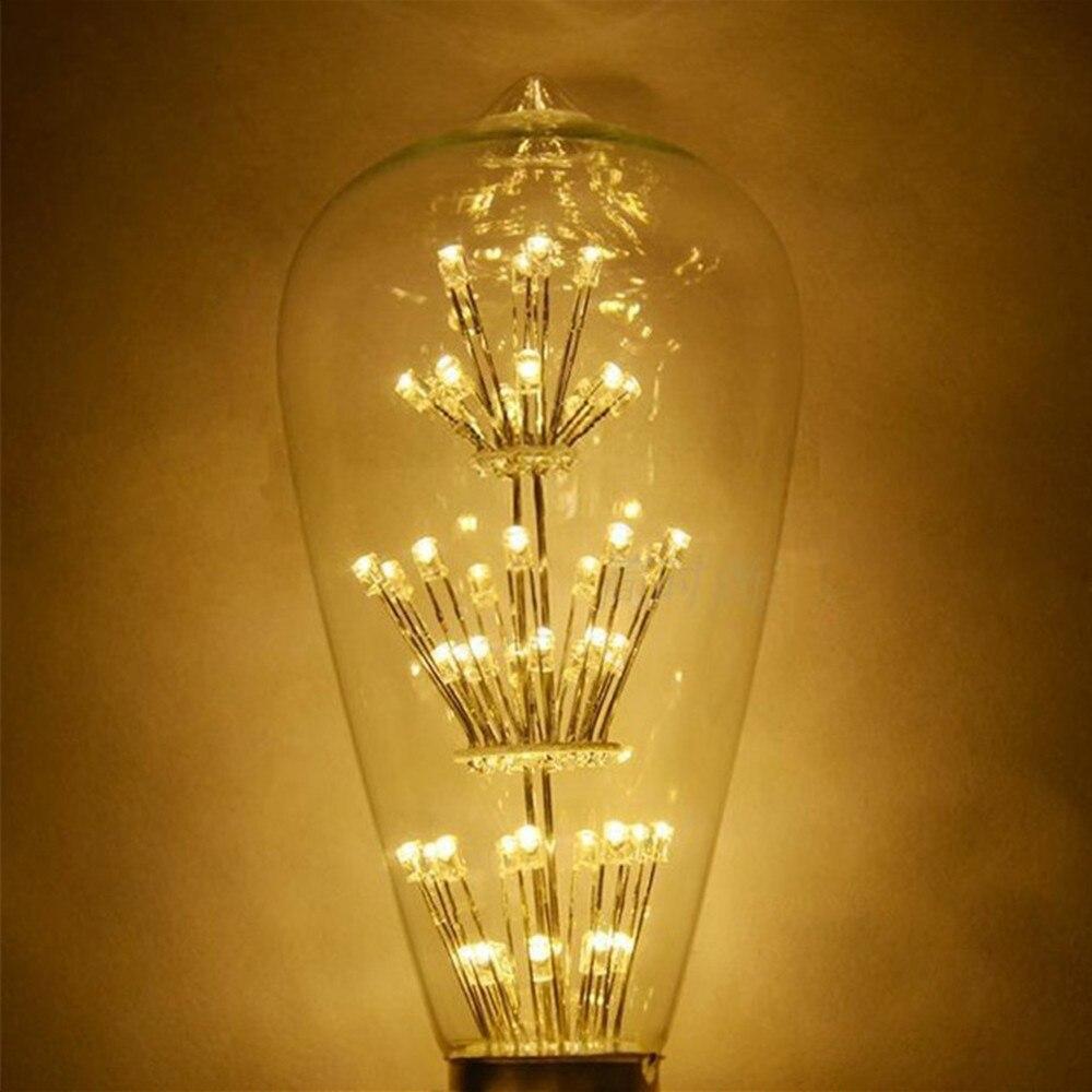 online get cheap light bulbs shop aliexpress com alibaba group vintage classic led starry bulb st64 ac85 265v e27 3w retro antique glass led light