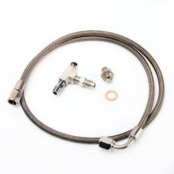 Kinugawa Turbo Oil Feed Line Kit 100cm 4AN for Garrett T2 T25 T28 Journal Bearing