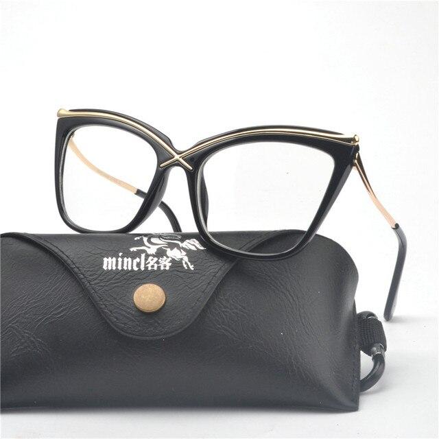 8caa730a6ac Fashion Women Cat Glasses Frames Cat Clear Eyeglasses Ladies glasses Frame  Retro Women s Glasses Brand Designer