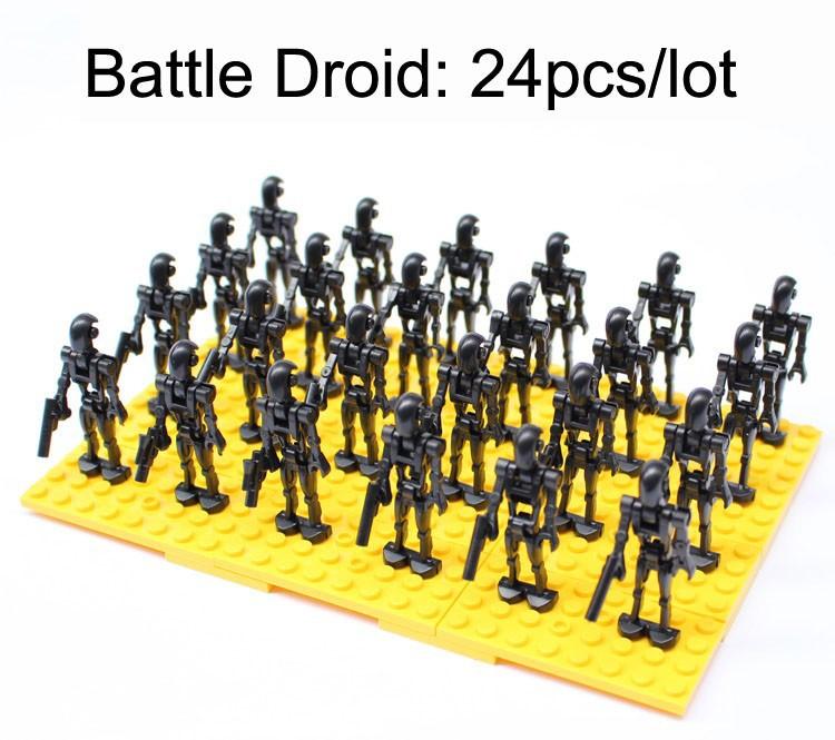 Star Wars battle droid set 1