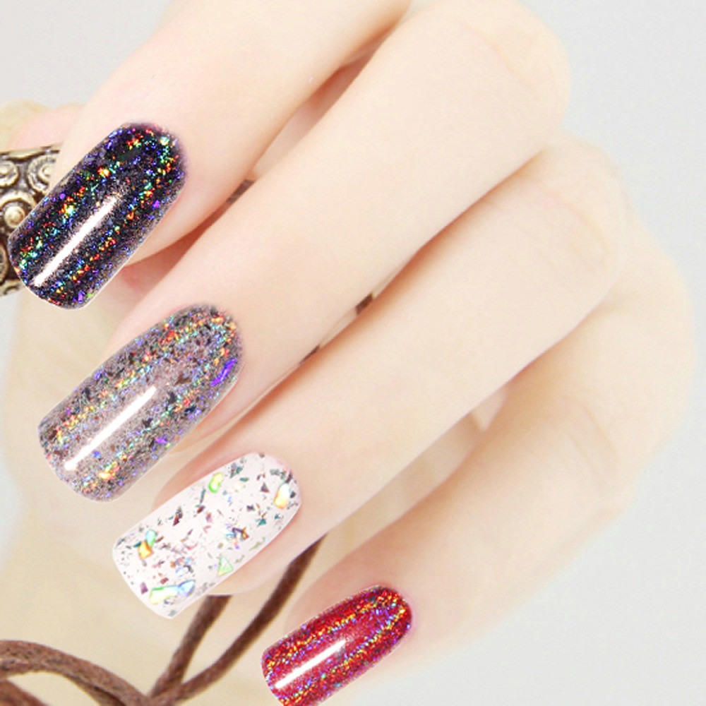 outtop 1g galaxy holo flakes nail