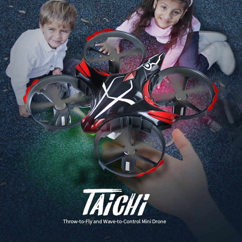 Mini Drone JJRC H56 TaiChi Mini Detección de infrarrojos RTF altitud Hold Control remoto RC Drone Quadcopter vs jjrc h36