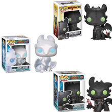 Funko POP How To Train Your Dragons 10cm Toothless Night Fury Pvc Action Figure Collectible Model Kids Toys for Children 2F06 10cm the predator pop action figure doll for kids gifts