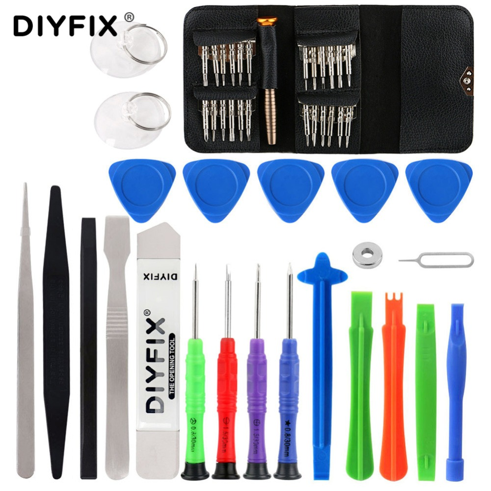 DIYFIX 48 In 1 Torx Screwdriver Mobile Phone Repair Tool Set Hand Tools For IPhone MacBook Xiaomi Tablet PC Small Toy Kit