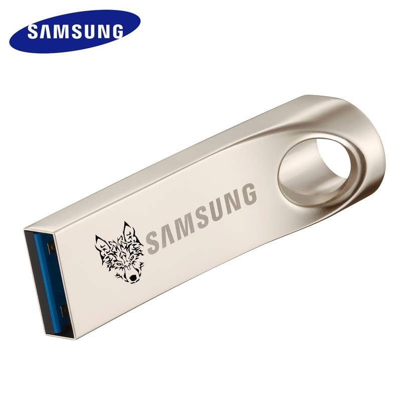 SAMSUNG USB Flash Drive 64gb USB 3.0 Metal Pen drive Custom lettering or pattern Drive cle usb Tiny Memory Pendrive 64GB U Disk samsung usb flash drive 64gb 3 0 pendrive lettering personalized flash memory stick micro usb memoria disk for android phone 64g