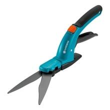 Ножницы для травы GARDENA 08733-29.000.00 (Волнообразные лезвия, неприлипающее покрытие, защитный фиксатор, легко и аккуратно подравнивать кромки газонов)
