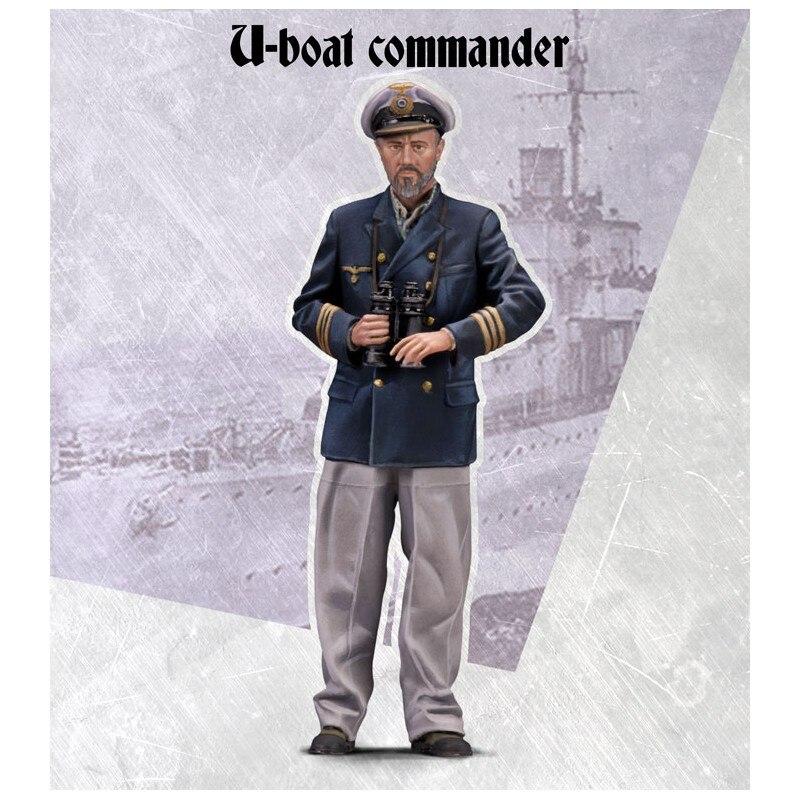 1/35 Risen Figures Model U-BOAT COMMANDER Unassambled Unpainted