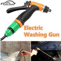 Universal DC 12V 36W Portable Car Cleaning Kit High Pressure Washer Pump Washing Gun