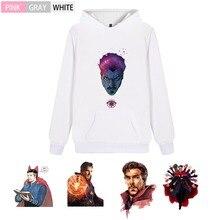 Marvel Movie Doctor Strange Fashion Cotton  Men/womansale Hoodie Kangaroo Pocket Casual Unisex Sportswear A193291 kangaroo pocket tie dye hoodie