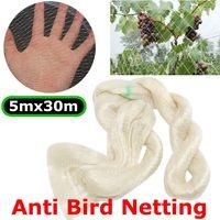 5*30m Anti Bird Net Pond Netting Protection Orchard Garden Farm Crop Plant Crops Fruit Tree Vegetable Flower Garden Mesh Protect