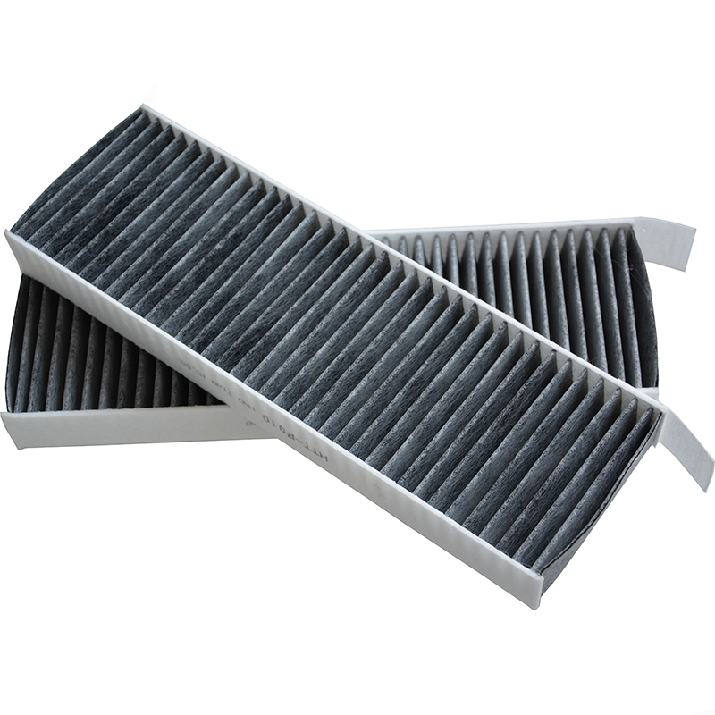 2Pcs Car Cabin Filters for 2012 <font><b>Peugeot</b></font> 3008 1.6L Citroen C4 Picasso / DS5 2.0L BERLINGO FOR <font><b>PEUGEOT</b></font> <font><b>5008</b></font> PARTNER Tepee image