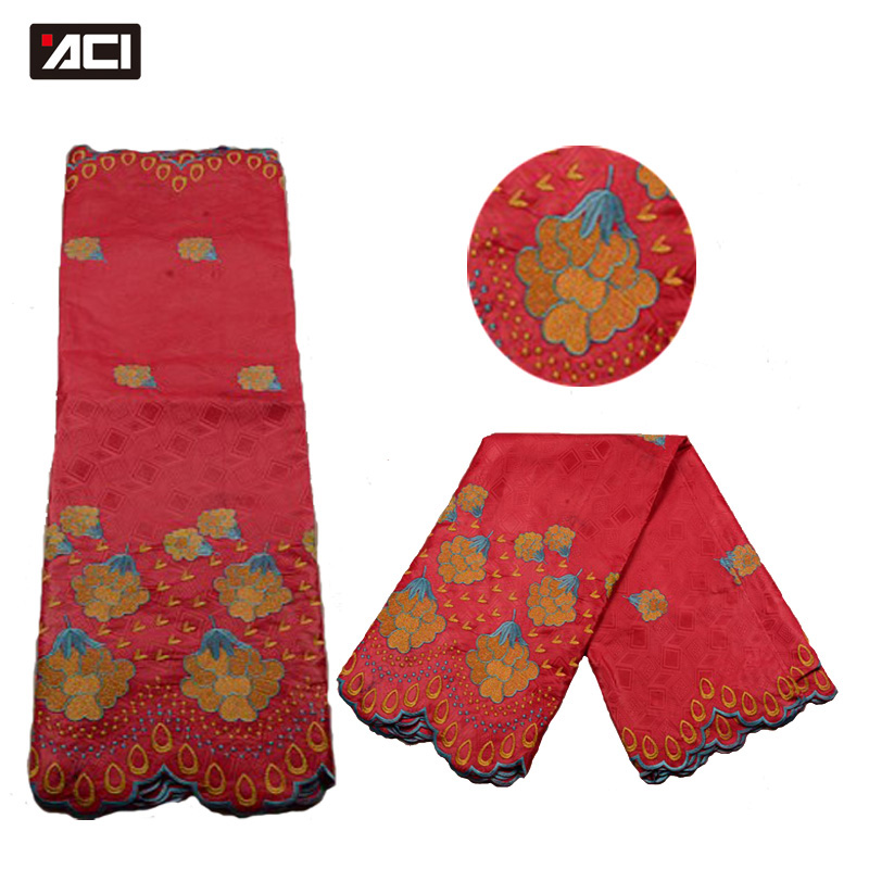 ACI New Arrival African Fabric Baizn Lace For Women 5Yards Guinea Brocade Damask Jacquard Fabric Nigeria Embroidered Lace FabricACI New Arrival African Fabric Baizn Lace For Women 5Yards Guinea Brocade Damask Jacquard Fabric Nigeria Embroidered Lace Fabric