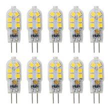 G4 LED Bulb, 1.5W AC/DC 12V Light Bulbs Equivalent to 20W Halogen Bulb, Non Dimmable Warm White 3000K Lightbulb for Interior Lig 5pcs lot led car light bulb g4 15pcs 5730 5630smd 12v ac dc 24v dc led pcb warm white 3000k decor home lighting car bulb