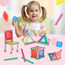 Magnetic Constructor Building Blocks Cube City Toys For Children Kids Boy Magnetic Block Constructor Standard Size Triangle Toy