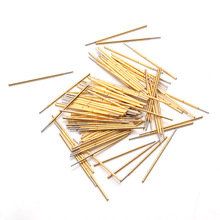 P038-F For Testing Circuit Board Instrument Voltage Test Probe Spring Phosphor Copper Tube Gold Plated Electronic Instrument