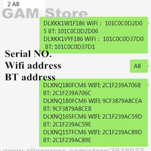 Address-Pad Icloud Serial Unlock iPad for SN Number Wifi 2/3/4-/.. A6 A7 A8 A9 A10 NO.
