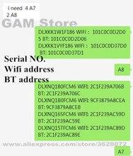 עבור Pad iCloud לפתוח מספר סידורי Wifi כתובת PAD 2/3/4/5/6/Air1 /Air2/mini1/mini2/mini3/פרו A6 A7 A8 A9 A10 מספר סידורי. SN