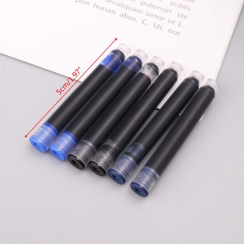 100 pces jinhao versal preto azul caneta