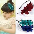 1pcs 2016 children girl bow  band baby girl headband  kids headwear hair accessories