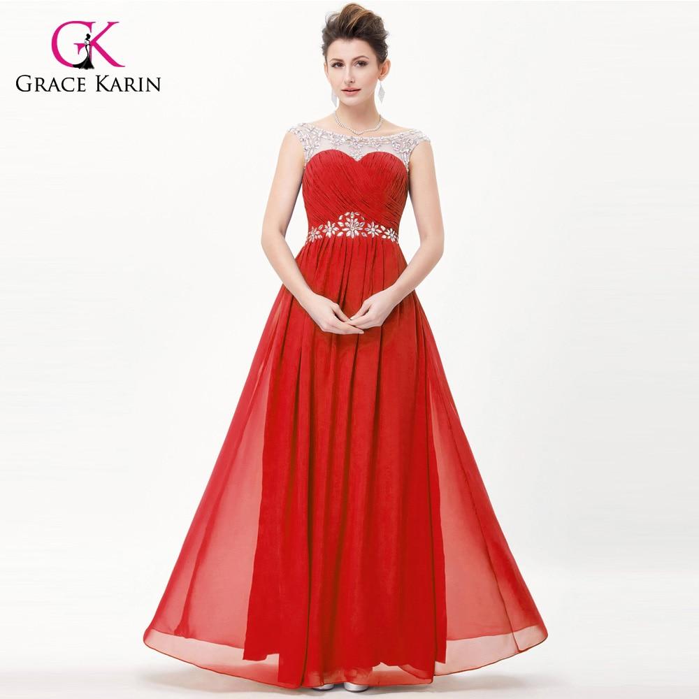 Grace karin abendkleider lange hochzeit kleid veranstaltungen open ...