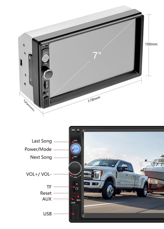 Touch camera screen Jansite 10