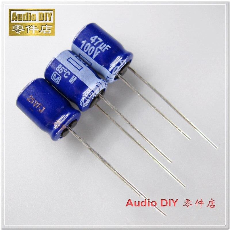 20PCS/100PCS M Series 47uF 100V 100V47UF Electrolytic Capacitor