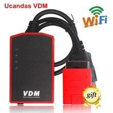 2016 Genuine VDM UCANDAS Wireless Universal Car Diagnostic Tool UCANDAS VDM Update Online Auto Scanner VDM Newest Version V3.9