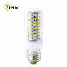 TSLEEN LED lamp Bulb E27 E14 Candle Light Bombillas SMD 5730 Home Decoration Lamp for Chandelier Spotlight 24 36 48 56 69 72LEDs