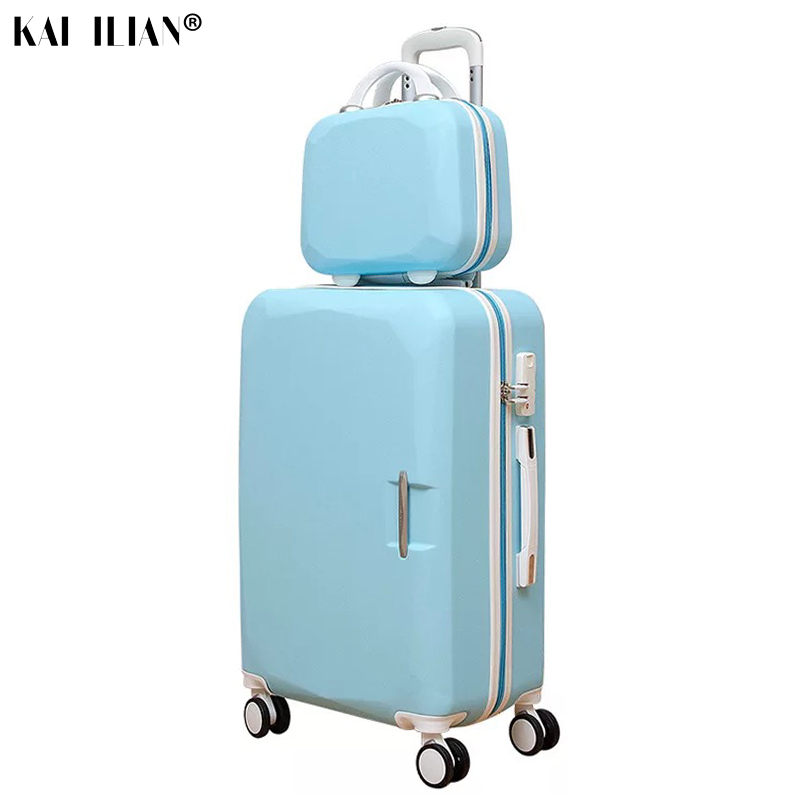 ABS+ PC Brand Women 202426 Inch Travel Luggage Trolley suitcase Boarding Case Rolling Case On Wheels Women Rolling LuggagesABS+ PC Brand Women 202426 Inch Travel Luggage Trolley suitcase Boarding Case Rolling Case On Wheels Women Rolling Luggages