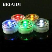 Beiaidi 5 pcs 야외 태양 지하 층 매장 된 램프 1led ip65 방수 풍경 정원 거리 도로 갑판 빛