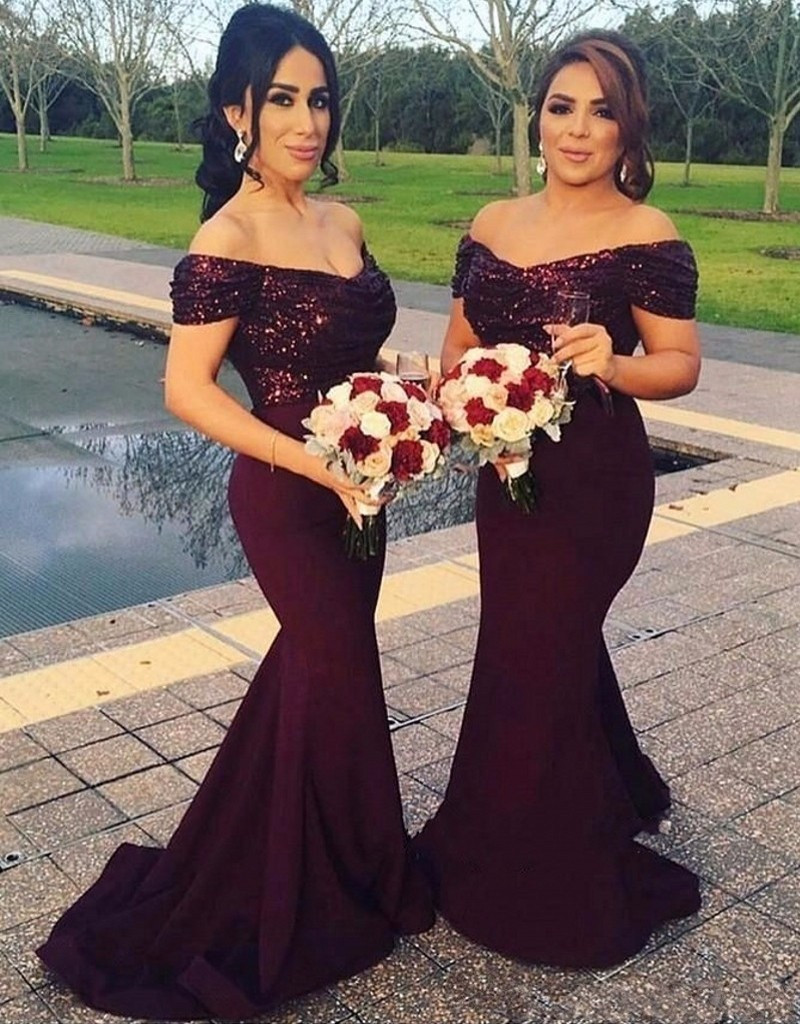 Mermaid Style Bridesmaid Dress Promotion-Shop for Promotional ...