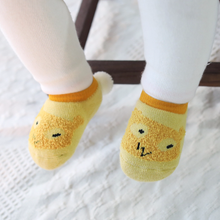 1 Pair Fashion Cute Kawaii 100% Cotton Newborn Baby Kids Boys Girls Cartoon Ankle Sock Gift Non-slip Floor Socks